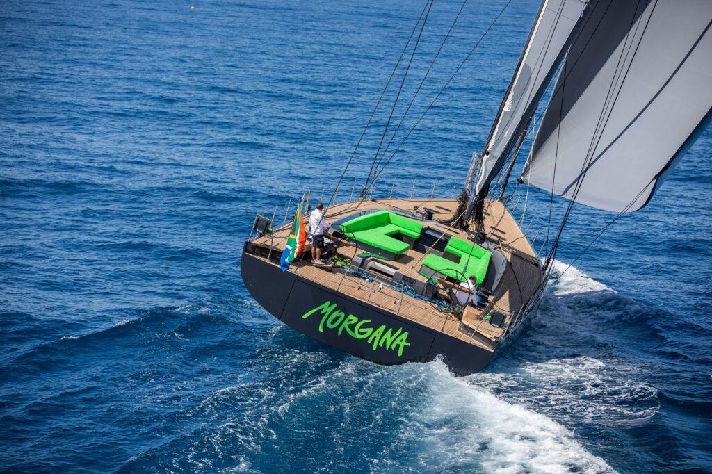 Il nuovo cruiser racer RP-Nauta 100 Morgana arriva in Italia dopo un viaggio di oltre 7000 miglia