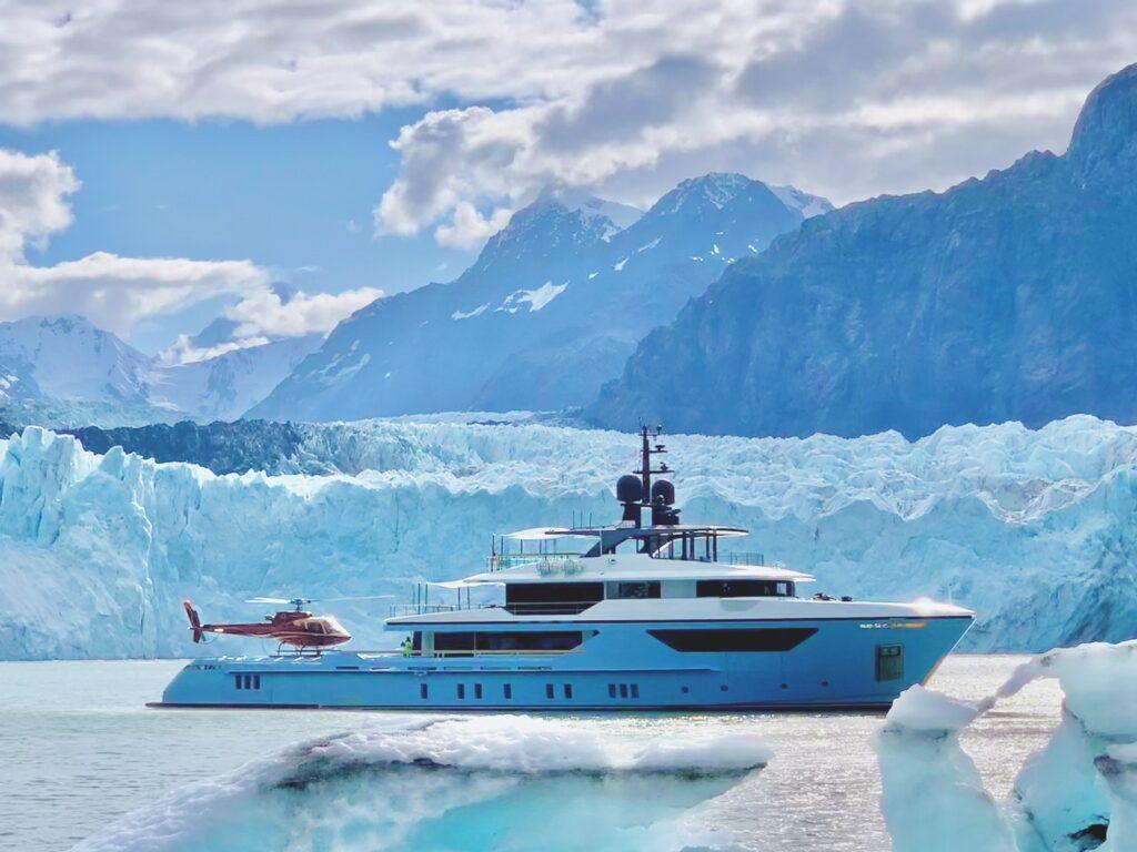 Nella terra dei ghiacci a bordo del Sanlorenzo 500Exp Ocean Dream Walker III