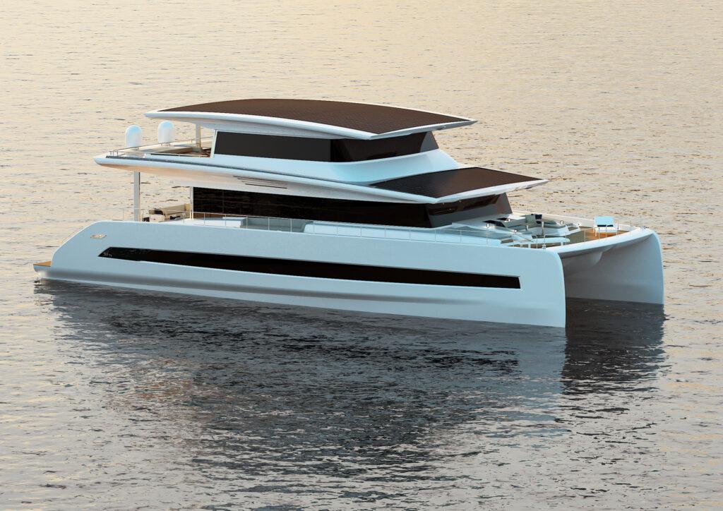Vendute le prime tre unità di catamarani elettrici a energia solare Silent 80 Tri-Deck