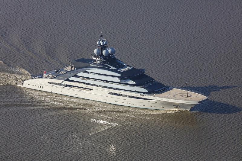 """Lürssen M/Y Nord: """"una nave da guerra che indossa uno smoking"""""""