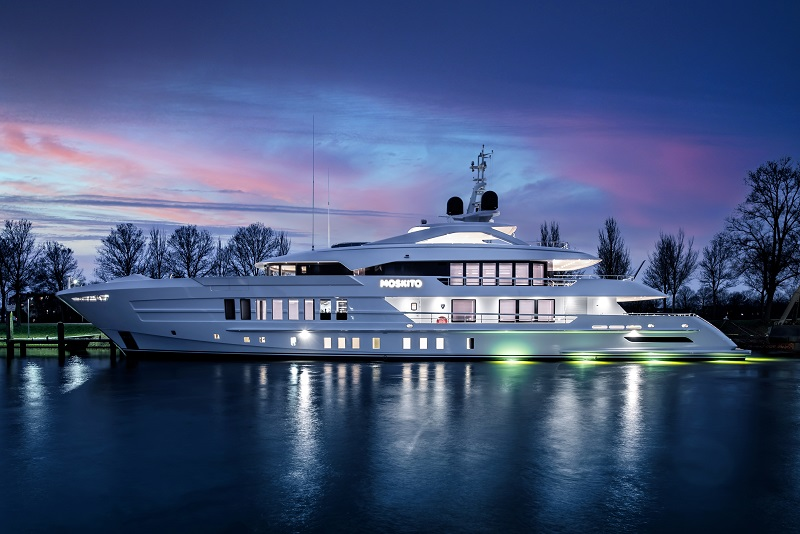 Heesen consegna Moskito, ex Project Pollux