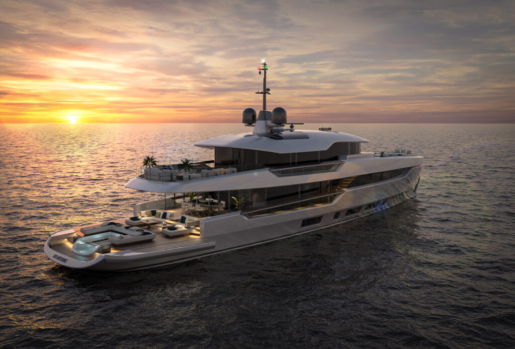 Columbus Atlantique 43 metri: Architecture for Voyagers