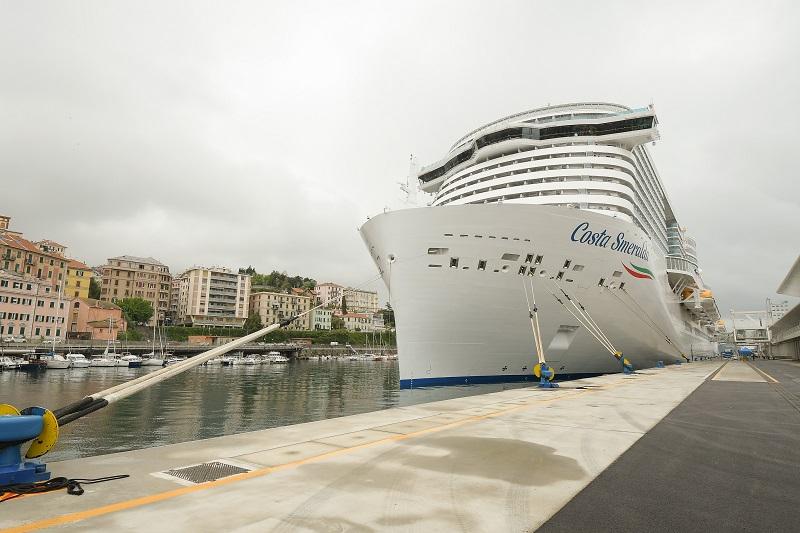 Costa Crociere riprende le operazioni dal 1° maggio con Costa Smeralda