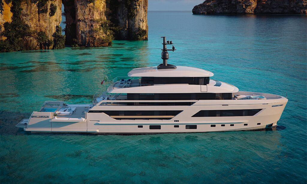X-Space: il nuovo concept di superyacht Sanlorenzo