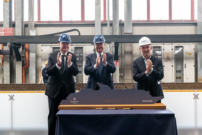 Avviata la costruzione di Explora I, prima nave per il nuovo brand di lusso di MSC Cruises