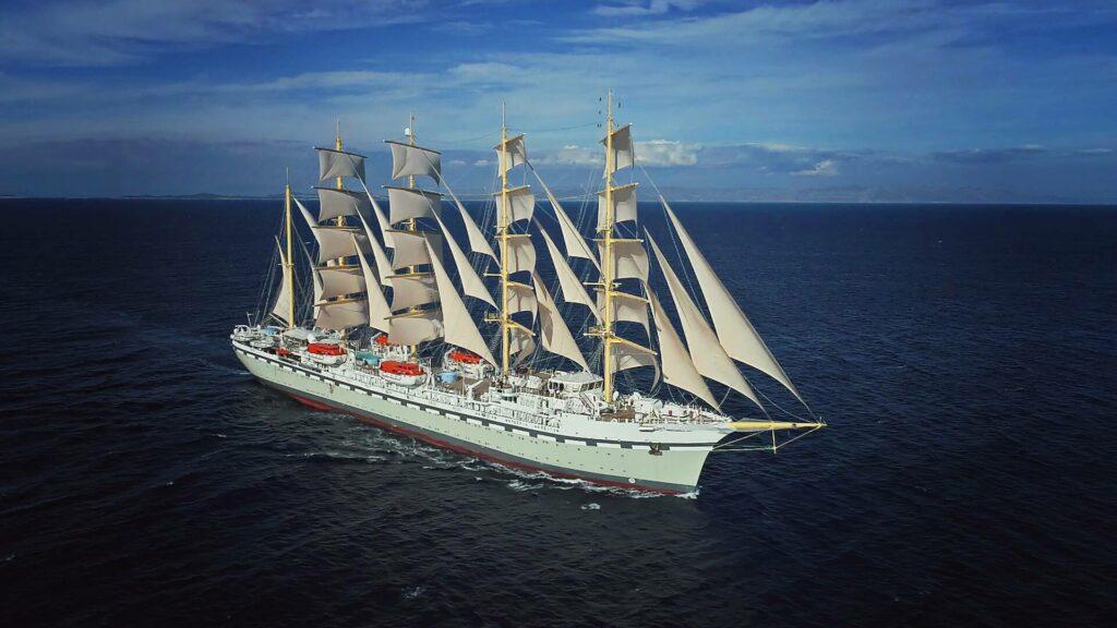 Tradewind Voyages debutta con Golden Horizon, il più grande veliero del mondo a vele quadre