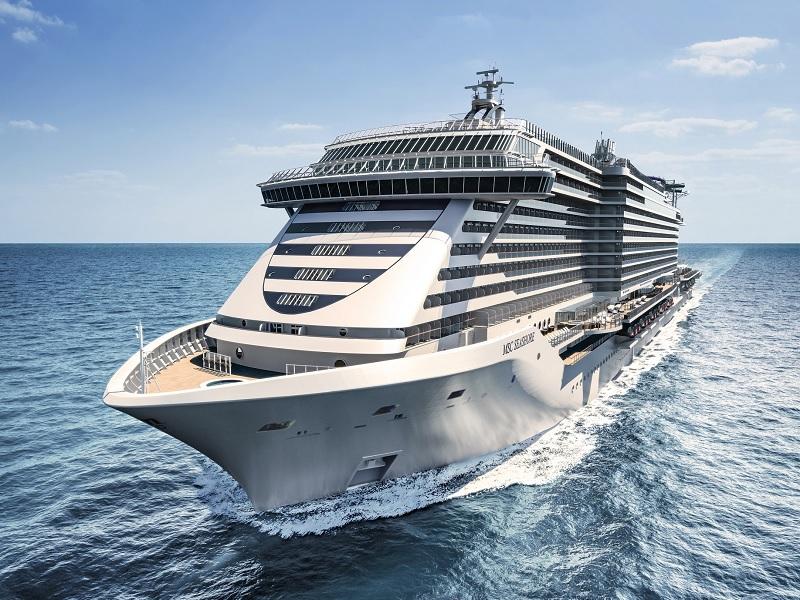Arriva a Genova MSC Seashore, la nuova ammiraglia di MSC Crociere