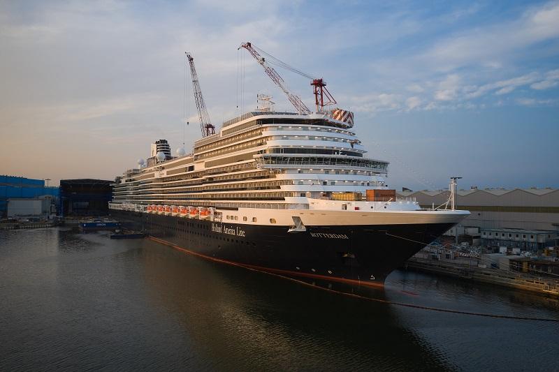 Fincantieri consegna Rotterdam, nuova ammiraglia di Holland America Line