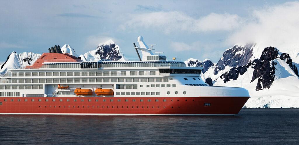 Knud E. Hansen presenta nuovi dettagli del suo ultimo progetto di nave da spedizione