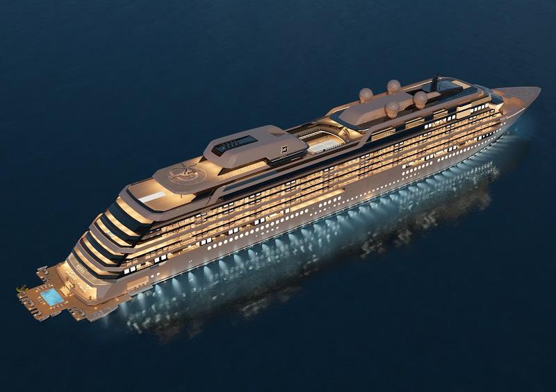 Nuovo potenziale ordine per Meyer Werft: M/Y Njord, nave residenziale da 84.800 tonnellate