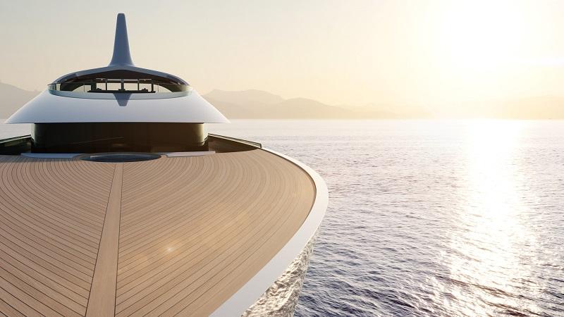 Feadship svela Pure, futuristico progetto di 82 metri