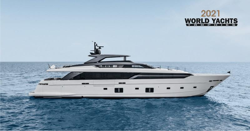 Gli yacht Sanlorenzo premiati ai World Yachts Trophies 2021 e ai World Superyacht Awards 2021