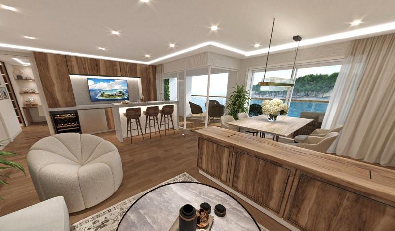 Storylines amplia l'offerta sulla sua nave residenziale MV Narrative